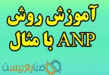 روش ANP با مثال