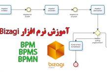 آموزش نرم افزار bizagi و bpm و bpms