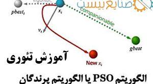 آموزش تئوری الگوریتم بهینه سازی ازدحام ذرات pso