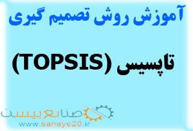 آموزش روش تاپسیس topsis