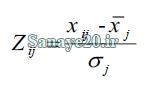 نرمال سازی ماتریس تاکسونومی