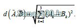 فاصله گزینه ها در الکتره فازی