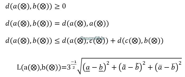 فاصله بین دو عدد خاکستری