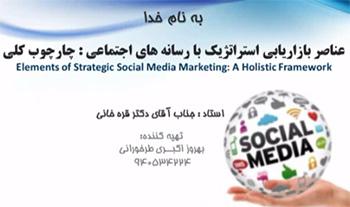 بازارابی استراتژیک رسانه های اجتماعی